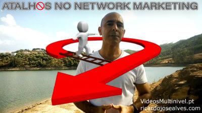 atalhos no network
